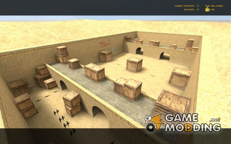 Map aim_arabia for Counter-Strike Source
