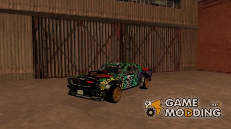 Rainbow Hoonicorn для GTA San Andreas