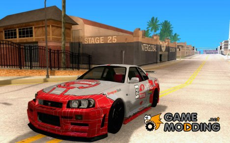 Nissan Skyline GTR R34 Nismo Z Tune for GTA San Andreas