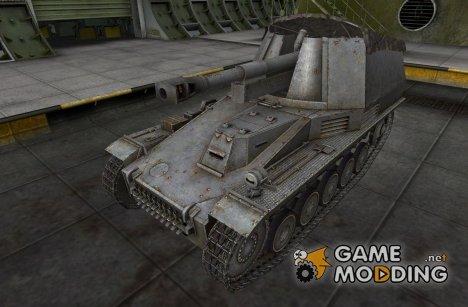 Ремоделлинг для Wespe для World of Tanks