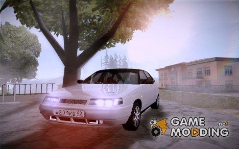ВАЗ 2112 качественная GVR for GTA San Andreas