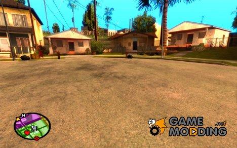 Изменять зум радара для GTA San Andreas