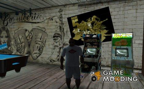 HQ текстуры для двух игровых автоматов для GTA San Andreas