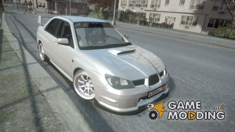 Subaru Impreza WRX STI for GTA 4