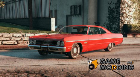 1969 Plymouth Fury III Coupe for GTA 5