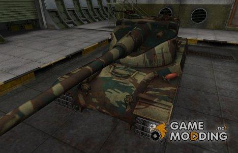 Французкий новый скин для AMX 50B для World of Tanks