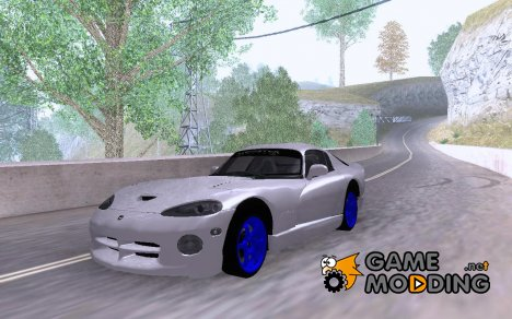 Dodge Viper GTS Monster Energy DRIFT для GTA San Andreas