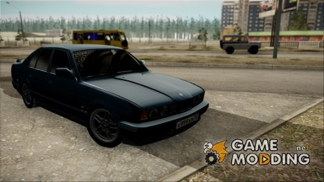 BMW 535i E34 (Зимняя версия) for GTA San Andreas