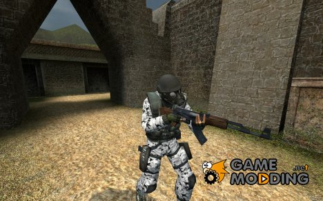 snow camo for Counter-Strike Source