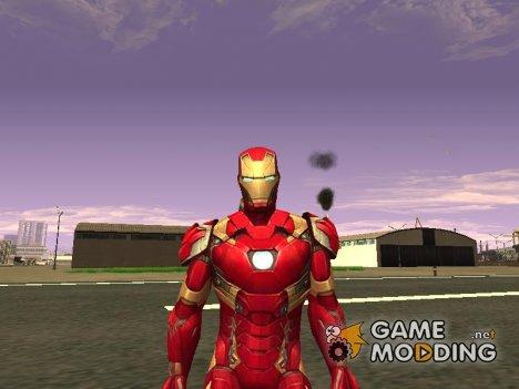 Железный человек mark 46 Противостояние v3 for GTA San Andreas