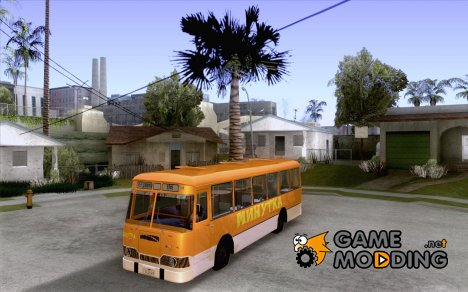ЛиАЗ-677 (Кафе минутка) for GTA San Andreas