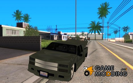 Chevrolet Silverado 1996 Lowrider для GTA San Andreas