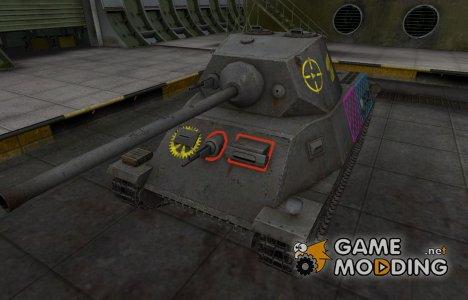Качественные зоны пробития для T-25 для World of Tanks