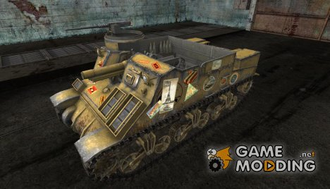 M7 Priest от No0481 для World of Tanks