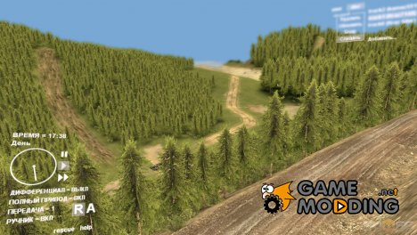 Карта Heidenkopf 1.0 для Spintires DEMO 2013