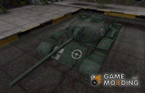 Зоны пробития контурные для T-34-2 для World of Tanks