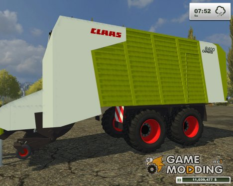 Claas Cargos 8400 for Farming Simulator 2013
