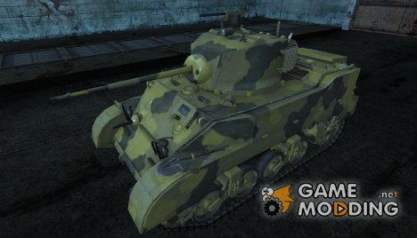 M5 Stuart SR71 1 для World of Tanks