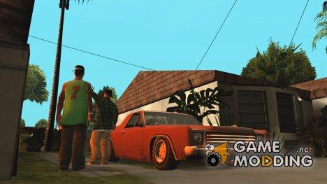 Солнечные отражения для GTA San Andreas