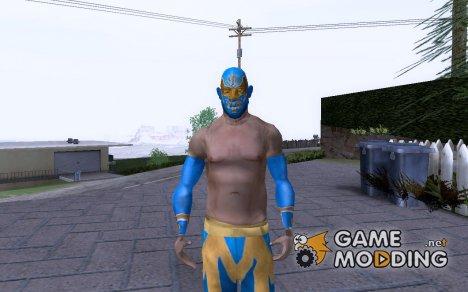 Sin Cara Ped To San Andreas для GTA San Andreas