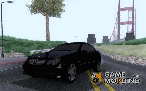 Mercedes Benz CLK500 (C209) for GTA San Andreas