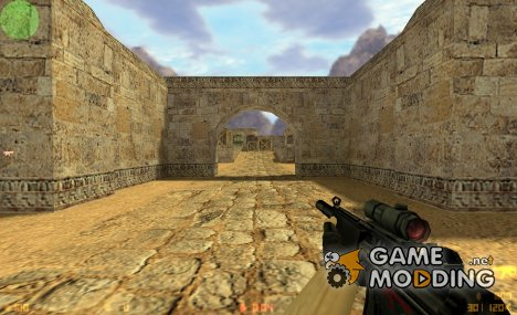 Default MP5 w/ enmity's scope для Counter-Strike 1.6