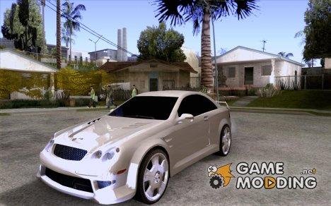 Mercedes-Benz CLK 500 Kompressor для GTA San Andreas