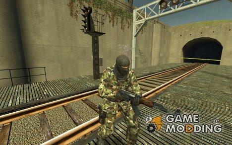 Woodland Camo Arctic для Counter-Strike Source