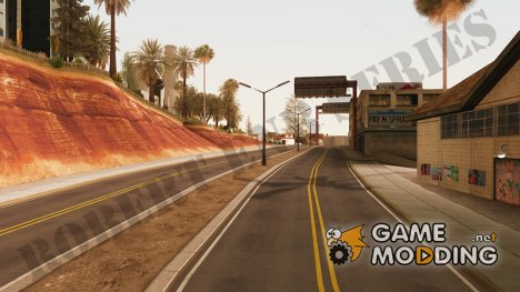 The Best Road Textures for GTA San Andreas - SA:MP для GTA San Andreas