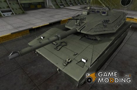 Ремоделинг Bat Chatillon 25t for World of Tanks