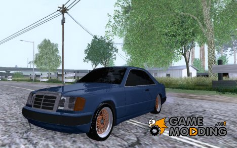 Mercedes-Benz W124 Low Gangster for GTA San Andreas
