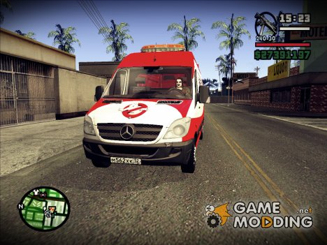 Ghostbusters for GTA San Andreas