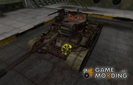 Качественные зоны пробития для M46 Patton для World of Tanks