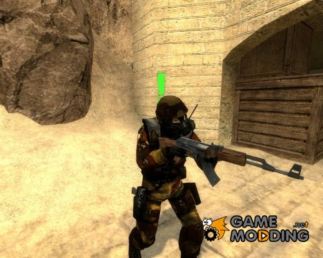 Bf2 Desert Sas Skin для Counter-Strike Source