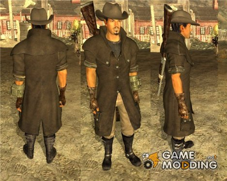 Плащ и шляпа for Fallout New Vegas