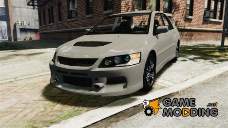 Mitsubishi Lancer Evolution IX MR для GTA 4