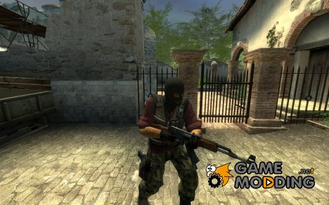 Red Camo v2 для Counter-Strike Source