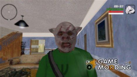 """Маска свиньи """"Окровавленный след"""" (GTA Online) for GTA San Andreas"""