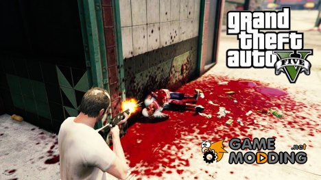 Extreme Blood for GTA 5