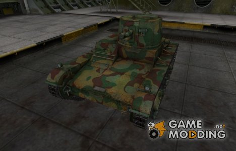 Китайскин танк Vickers Mk. E Type B for World of Tanks
