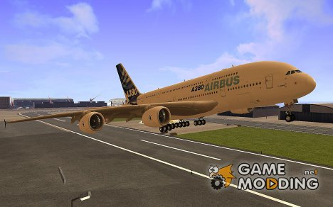 Airbus A380-800 for GTA San Andreas