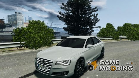 Audi A8 LED 2012 for GTA 4