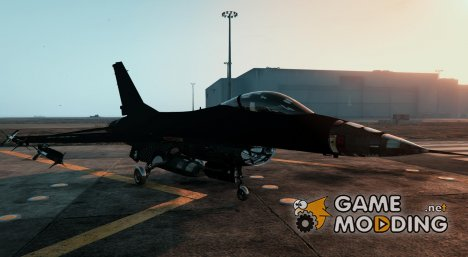 F-16A Block 15 Configuration (Lazer Replace) для GTA 5