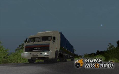 КамАЗ 54115 из дальнобойщиков для GTA San Andreas