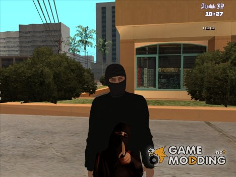 Бандит HD Retexture for GTA San Andreas