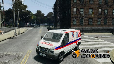 Ford Transit Polish Ambulance для GTA 4