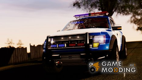 Ford F-150 SVT Raptor 2012 Police version для GTA San Andreas