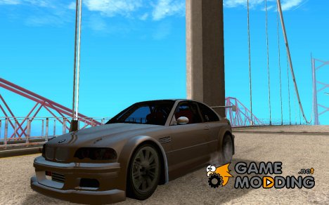 BMW M3 GTR BlackList for GTA San Andreas