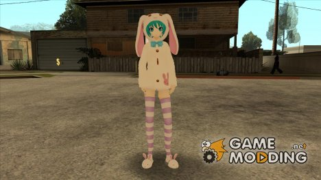 Miku Bunny for GTA San Andreas