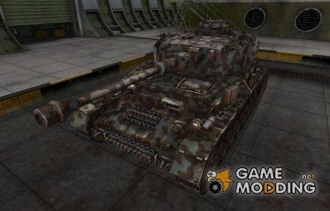 Горный камуфляж для PzKpfw IV hydrostat. для World of Tanks